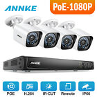 ANNKE H.264 4/8CH 6MP NVR CCTV Outdoor Camera Security POE System Remote IP66