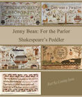 Внешний вид - Jenny Bean: For the Parlor Series Shakespeare's Peddler Cross Stitch Pattern