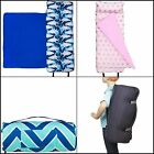Kids Nap Sleeping Mat Assorted Designs with Built in Blanket and Pillowcase NEW