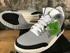 Air Jordan 3 Retro 136064-006 Smoke Grey Chlorophyll Tinker 2018 NEW SHIPS NOW
