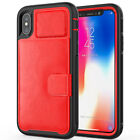 Luxury Card Holder Wallet Phone Case Cover Bracket for iPhone XS Max XS X XR