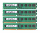 4GB 4G 2Rx8 PC3-10600U DDR3 1333Mhz DIMM RAM Desktop Memory 240PIN NON-ECC Lot