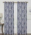 2 Pack: 100% Thermal Grommet Blackout Paisley Curtains - Assorted Colors