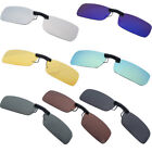 Polarized Day Night Vision Clip-on Lens Driving Glasses Sunglasses Eyewear UV400