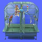 A and E Cage Co. Dome Top Style Double Macaw Bird Cage 6432