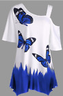 *CLEARANCE! Women's Solid Floral Tops Blouse Tunic Dress Shirt Cheap ON SALE