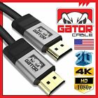 Ultra HD HDMI High Speed UHD 4K Cable 3D 1080P Ethernet LED LCD HDTV PS4 XBoxOne