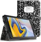 For Samsung Galaxy Tab A 8.0'' SM-T387V 2018 Model Folio Case Cover Stand 4Color