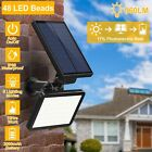 Внешний вид - 48LED Solar Power Spotlight Garden Lawn Lamp Landscape Lights Outdoor Waterproof