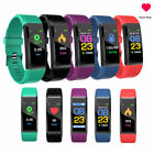 BT Smart Bracelet Watch Wristband Fitness Tracker HR Monitor for Android i phone