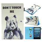 For Amazon Kindle Fire HD 10 / HD 8  2018 Smart Tablet Case Leather Stand Cover