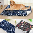 Pet Dog Mat Self Heating Cat Cushion Bed Warm Coral Fleece Pad Large Blanket Mat