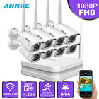ANNKE Wireless Wifi 1080P CCTV Camera Home Security Surveillance System IP66 UK