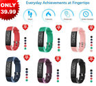 Fitness Tracker HR Activity Watch Heart Rate Monitor Waterproof Calorie Counter