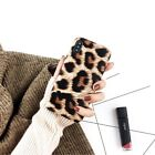 Furry Faux Fur Leopard Print Phone Back Case Cover Shell For iPhone 6s 7 8 X XS