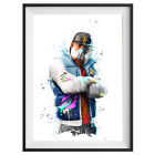 Abstrakt Poster Game Outfit Print Wall Art Gaming Room Decor Gift Skin  S626
