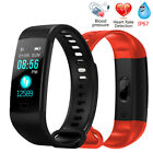 Y5 Man Heart Rate Blood Pressure Health Monitor Smart Wrist Bracelet Watch Women