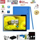 10.1'' Tablet  Android 8gb Quad Core Hd Dual Camera Wifi With Earphone Kit Us