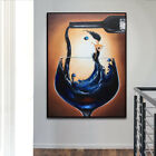 YA1069 Large Modern 100% Hand-painted abstract oil painting on canvas Wine cup