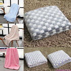 Pet Dog Puppy Cat Non Slip Soft Blanket Bed Pad Cute Coral Fleece Mat Home Deor
