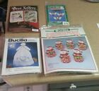 Vintage Cristmas Sewing & Craft Kit Lot of 4, New, Cross Stitch, Embroidery