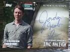 Walking Dead Evolution Autograph Jordan Woods-Robinson as Eric Releigh