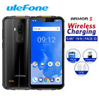 """Ulefone Armor 5 Ip68 Waterproof Phone Android 5.85"""" 4gb+64gb Wireless Charge 4g"""