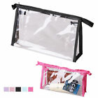 Внешний вид - Transparent Cosmetic Bag Clear Plastic PVC Travel Cosmetic Make Up Toiletry Bag