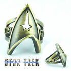 Anime Star Trek Finger Ring Metal Hollow Retro Rings Cos Accessories Props Gift on eBay