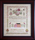 Внешний вид - Peace on Earth Christmas Sampler Cottage Garden Samplings Cross Stitch Pattern