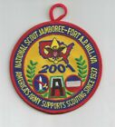 2001 US Boy Scout National Jamboree Fort AP Hill ARMY patch