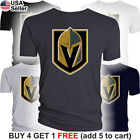 Las Vegas Golden Knights T-Shirt Logo LV Men Cotton $10.75 USD on eBay
