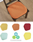 Premium Memory Foam Non-Slip Multi Surface Chair Cushion Pads - Assorted Colors