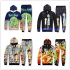 Graphic Cartoon Pants Sweatshirts Hoodies 3D Printed Pullover Sportswear Sweater