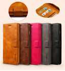 Genuine Leather Case Cover Wallet card Flip For iPhone X 8Plus 6s 7 XR XS Max 7P