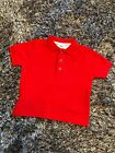 WORN ONCE - HUGO BOSS RED POLO TSHIRT TOP - 12 MONTHS