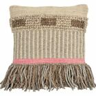 Foreside Home and Garden Hand Woven Cottage Decorative Pillow image