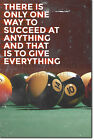 "Pool / Snooker Motivation 10 ""There is only one way..."" Poster Art Print £5.99 GBP on eBay"