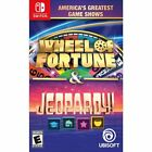 America's Greatest Game Shows Wheel of Fortune & Jeopardy! (Nintendo Switch) New