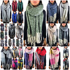 Kyпить XXL DAMEN WINTER SCHAL DICK STRICKSCHAL KARO HALSTUCH CAPE SCARF PONCHO TOP NEU на еВаy.соm