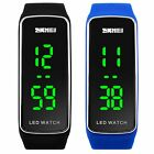 Mens Womens Students Silicone LED Sport Bracelet Digital Electronic Wrist Watch image