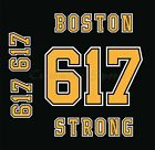 Boston Bruins 2007-2017 Home Jersey Customized Number Kit - BOSTON STRONG 617 $44.99 USD on eBay