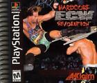 ECW Hardcore Revolution Playstation Game is Complete *SEE DETAILS* FAST SHIP!