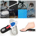 Unisex Gel Insoles Orthotic Arch Support Shoe Pad Sport Running Cushion Insert
