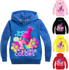 Kids Boys Girls Trolls SweatShirt Hoodies Tops Cartoon Print Casual Clothes  image