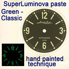 WATCHES-PARTS: HAND PAINTED SUPERLUMIA  660 DIAL VOSTOK AMPHIBIA 3 KINDS OF LUME image