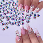 1440Pcs Crystal Nail Rhinestone 3D Jewelry Glass Diamond Nail Art Decoration