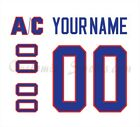 Montreal Canadiens 1984-97 White Jersey Customized Number Kit un-stitched $34.99 USD on eBay