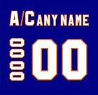 New York Islanders Customized Number Kit for 2010-Present Home Jersey $29.99 USD on eBay