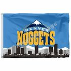 Denver Nuggets Denver Skyline Flag 3Ft X 5Ft Polyester Nba1 Team Banner 90*150Cm on eBay